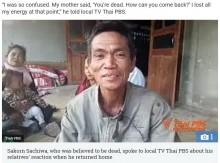 亡くなったはずの息子が7か月後に帰宅、葬儀をあげた家族ら仰天(タイ)