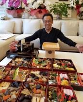 【エンタがビタミン♪】梅沢富美男「美味しそうでしょ?」 毎年恒例の手作りおせちを披露