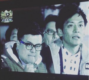 『M-12015』敗者復活戦でのとろサーモン(画像は『千鳥ノブ 2017年12月3日付Instagram「コレが。。こうなる!!」』のスクリーンショット)
