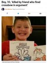 【海外発!Breaking News】子供同士の喧嘩にクロスボウ 矢が体を貫通し10歳男児が死亡(米)