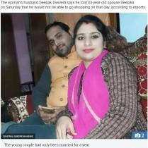 【海外発!Breaking News】夫に買い物の付き添いを断られた23歳女性、首を吊って命を絶つ(印)