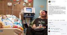 【海外発!Breaking News】末期がんの5歳児のそばで号泣する余命僅かの祖父 「現実はあまりにも残酷」(米)
