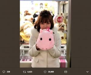 『FINAL CUT』若葉役の橋本環奈(画像は『橋本環奈 2018年1月9日付Twitter「FINAL CUT 第1話今夜21:00~放送です!!」』のスクリーンショット)