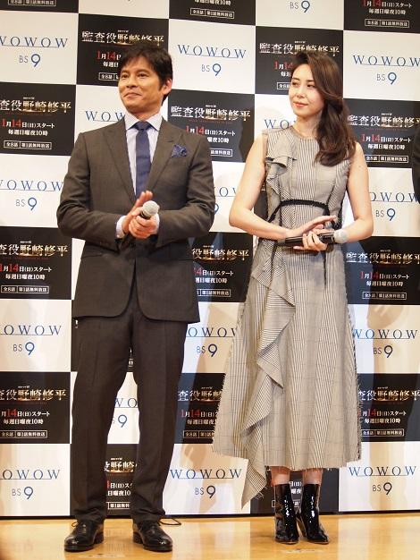 互いに初共演みたいだったと織田裕二と松嶋菜々子