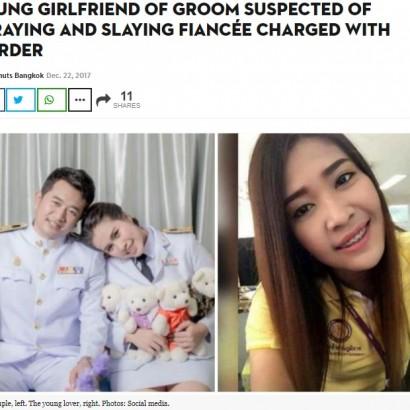 【海外発!Breaking News】「職場に好きな子ができた」 挙式直前に婚約者を殺害した男(タイ)