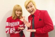 【エンタがビタミン♪】Dream Ami&カズレーザー 2ショットがまるで「双子コーデ」