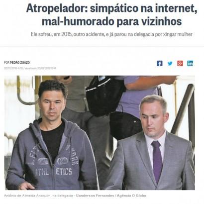 【海外発!Breaking News】男が運転中にてんかん発作 歩道に乗り上げ18名が死傷(ブラジル)