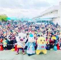 """【エンタがビタミン♪】ちっちゃいおっさん、2017年最後のイベントは""""親友""""ふなっしーとJRA阪神競馬場で"""