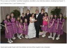 【海外発!Breaking News】我が子13人を栄養失調状態で自宅監禁し続けていた両親(米)