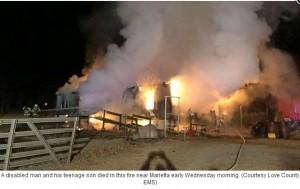 【海外発!Breaking News】火事で体の不自由な父を助けようとした13歳少年、2人とも炎の犠牲に(米)