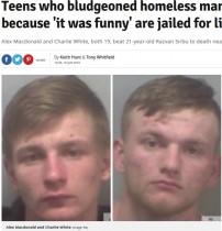 【海外発!Breaking News】「なんか面白かったから」 ホームレスを暴行殺害した10代2人に終身刑(英)