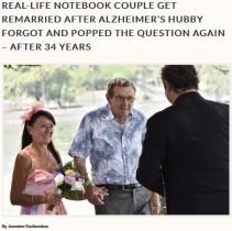 【海外発!Breaking News】アルツハイマー病の夫が2度目の求婚 34年ぶりに誓いの言葉を交わす(ニュージーランド)<動画あり>