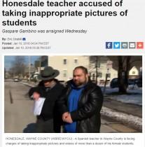 【海外発!Breaking News】学校貸与のiPadに教室内で盗撮した画像・動画が多数 34歳教諭を逮捕(米)