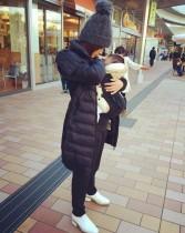 【エンタがビタミン♪】平愛梨の赤ちゃん抱っこ姿に驚きの声 「もう産まれたの!?」