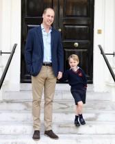 """【イタすぎるセレブ達】ジョージ王子4歳は「まるで小猿」 """"未来の英国王""""のキュートな素顔に迫る"""