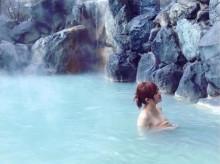 【エンタがビタミン♪】菊地亜美、いろっぽい温泉ショットにファン動揺「これアカンやつ…」