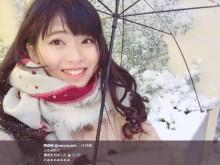 【エンタがビタミン♪】AKB48まちゃりん「人生初めて積雪を見ました」 武藤十夢・小嶋菜月も大雪でハイテンション