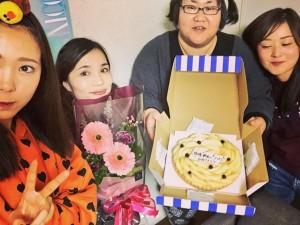 【エンタがビタミン♪】安藤なつが藤田ニコル、平野ノラ、水卜麻美アナの新しい門出を祝う 念願のたこパ開催!