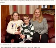 【海外発!Breaking News】出生時に「余命1時間」と言われた男児、10歳誕生日を迎える(英)