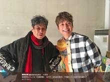 【エンタがビタミン♪】香取慎吾、横尾忠則さんのアトリエを訪れる 『芸術新潮』で対談
