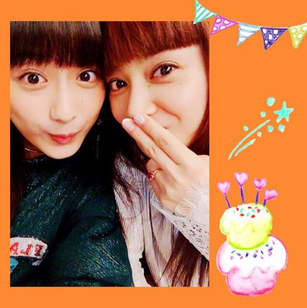 平祐奈と平愛梨(画像は『平祐奈 2017年12月12日付Instagram「Happy Birthday Dear My Sister」』のスクリーンショット)