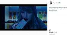 """【イタすぎるセレブ達】テイラー・スウィフト、エド・シーランとのコラボ曲『End Game』MVで日本のファンに嬉しい""""仕掛け""""<動画あり>"""