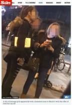【海外発!Breaking News】ホームレス男性に心無い行為をした少女3人組に非難の嵐(英)