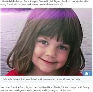 【海外発!Breaking News】4歳児を虐待死させた母親とその恋人 検死医「こんな残酷なケースは初めて」(米)