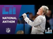 【イタすぎるセレブ達】P!NK、素晴らしい国歌斉唱パフォーマンスを披露 体調不良を感じさせず