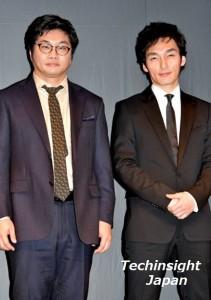 『バリーターク』にて2人の男を演じる 草なぎ剛と松尾諭