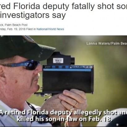 【海外発!Breaking News】元・郡保安官代理、義理の息子を射殺(米)