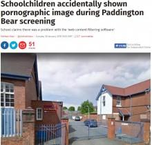【海外発!Breaking News】小学校、誤ってポルノ映画を上映 「パディントンのはずだった」(英)