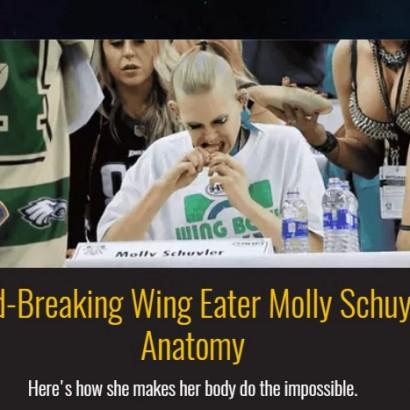 【海外発!Breaking News】501本をペロリ! 「手羽先大食い大会」で30代女性が驚異の記録(米)