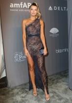【イタすぎるセレブ達】超大胆シースルードレスを選んだのは失敗!? トップモデルのブレッヒェ・ハイネン