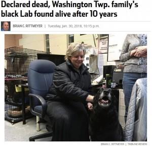【海外発!Breaking News】行方不明になった犬と10年ぶりに再会した飼い主「諦めないことが大切と実感」(米)