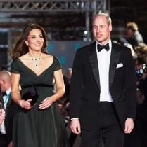 【イタすぎるセレブ達】キャサリン妃、英国アカデミー賞授賞式へ セクハラ抗議の「黒ドレス」は着用せず