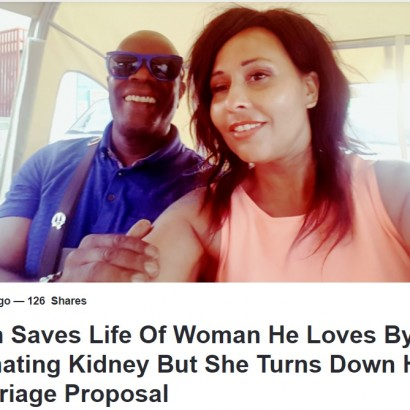 【海外発!Breaking News】親友に腎臓提供した男性、その後プロポーズするも断られる(英)