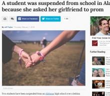【海外発!Breaking News】レズビアン・カップルのプロム参加を認めない高校側 生徒らボイコット運動(米)