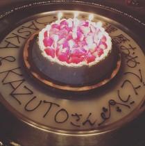 【エンタがビタミン♪】中野浩一夫人、ASKAの還暦を祝う 本人は腹膜炎のため欠席