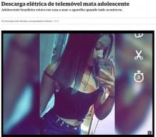 【海外発!Breaking News】スマホ充電中にイヤホンを使用した17歳少女が感電死(ブラジル)