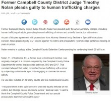 【海外発!Breaking News】判事が未成年少女を脅しながら買春 有罪答弁で20年の服役へ(米)
