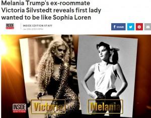 【イタすぎるセレブ達】メラニア・トランプ夫人の意外な素顔 モデル時代のルームメイトが語る