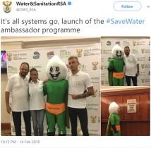 【海外発!Breaking News】「水不足になるより怖い」 南アフリカ政府発表の節水キャラクターが不評