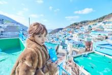 """【エンタがビタミン♪】近藤千尋、韓国・釜山で""""フォトジェニックな旅""""を満喫 「可愛すぎて羨ましい」の声"""