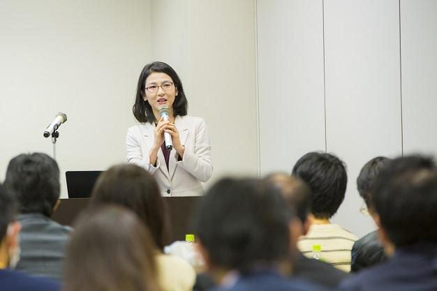 3月14日に開催されたみずほ銀行の朝活プロジェクト第1回目