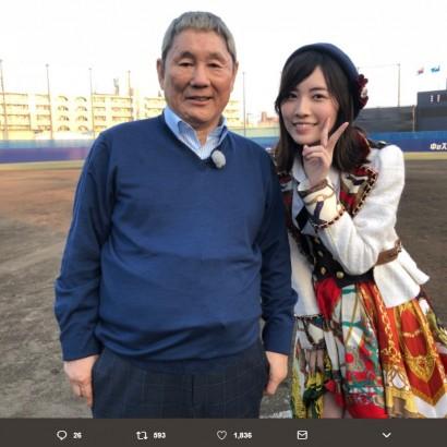 【エンタがビタミン♪】SKE48松井珠理奈&須田亜香里、ビートたけしと共演「勢いこのまま突っ走っていきたい」