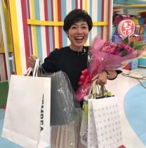【エンタがビタミン♪】有働由美子アナ、誕生日のお祝いに感激「オバちゃんになってみるもんですわ」