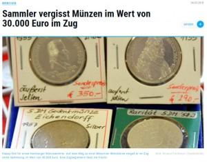【海外発!Breaking News】手押し車で大量の硬貨を運んでいた男性 列車内に置き忘れるも無事戻る(独)