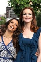 【イタすぎるセレブ達】エヴァ・ロンゴリア、出産は5月か 『デス妻』共演女優達からアドバイスも