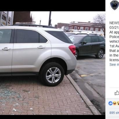 【海外発!Breaking News】免許取得の技能試験で17歳少女、試験センターに車突っ込む(米)
